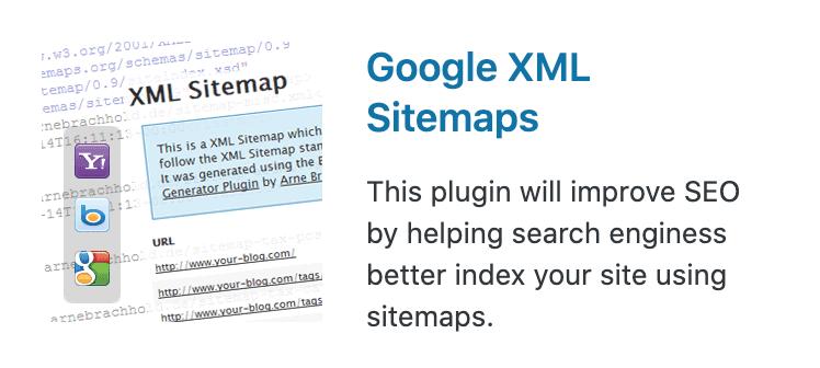 ④:Google XML Sitemaps(サイトマップ送信)