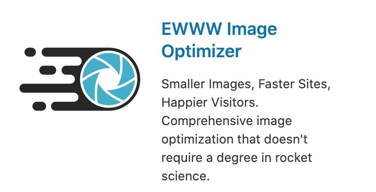 ⑤:EWWW Image Optimizer(画像サイズの自動圧縮)